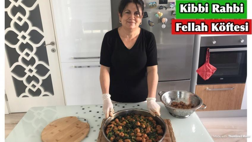 Kibbi Rahbi (Ispanaklı Fellah Köftesi)